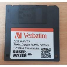 """Дискета 3,5"""" DOS Games"""