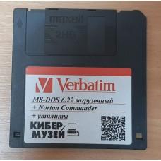 """Дискета 3,5"""" MS-DOS 6.22"""
