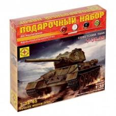 Сборная модель Танк Т-34-85